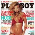 Joanna Krupa en couverture de Playboy