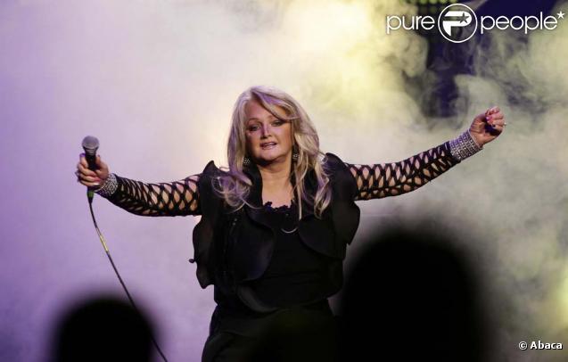 Bonnie Tyler au Hard Rock's Pinktober concert, le 1er novembre 2009 à Londres !