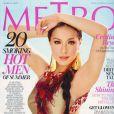 La ravissante Cristine Reyes en couverture de  Metro  !