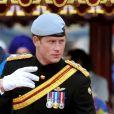 Le prince Charles, le prince Philip, le prince William et le prince Harry lors du jubilé de diamant de la reine Elizabeth à Londres en 2012.