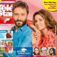 Couverture du nouveau numéro du magazine Télé-Star en kiosques le 19 avril 2021