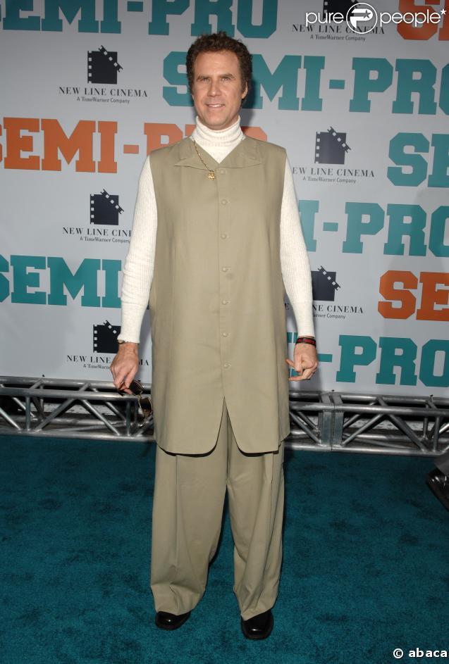 Will Ferrell à l'avant-première de Semi-Pro