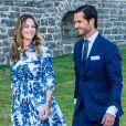 La princesse Sofia (Hellqvist ), le prince Carl Philip - La famille royale de Suède se retrouve au palais Solliden pour le Victoria Day, l'anniversaire de la princesse Victoria de Suède à Borgholm.