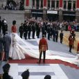 Lady Diana le jour de son mariage avec le prince Charles, en 1981, à Londres.