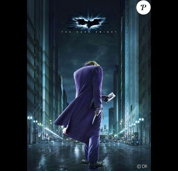 Heath Ledger en Joker dans The Dark Knight