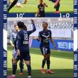 Sekou Mara, le fils d'Audrey Crespo-Mara, a marqué son premier but en Ligue 1 au sein du club de foot de Bordeaux - Instagram