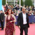 """Audrey Fleurot et Djibril Glissant - Avant-première du film """"Everest"""" et soirée d'ouverture lors du 41ème Festival du film américain de Deauville, le 4 septembre 2015."""
