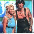 "Pamela Anderson et Tommy Lee, céremonie ""World Music Awards"" 1999 Monaco"