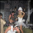 Soirée d'Halloween organisée par Heidi Klum et son mari Seal, à Hollywood !