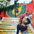 """Lucie de """"Koh-Lanta 2021"""" à Rio de Janeiro, février 2021"""