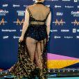 Barbara Pravi représente la France au concours Eurovision 2021 à Rotterdam . Photocall le 16 mai 2021.