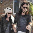 Katy Perry et son chéri Russell Brand à Londres, le 7 novembre 2009