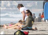 Cindy Crawford : Après l'effort avec son mari, elle s'accorde une pause romantique sur la plage...
