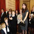 Nicolas Sarkozy et Dany Boon en famille avec sa femme Yael, et ses fils Mehdi, Noé, Eytan et Elia