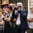 Karl Lagerfeld et sa muse en shooting à Benos Aires en Argentine pour la prochaine campagne Chanel