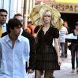 Claudia Schiffer à Benos Aires en Argentine pour la prochaine campagne Chanel