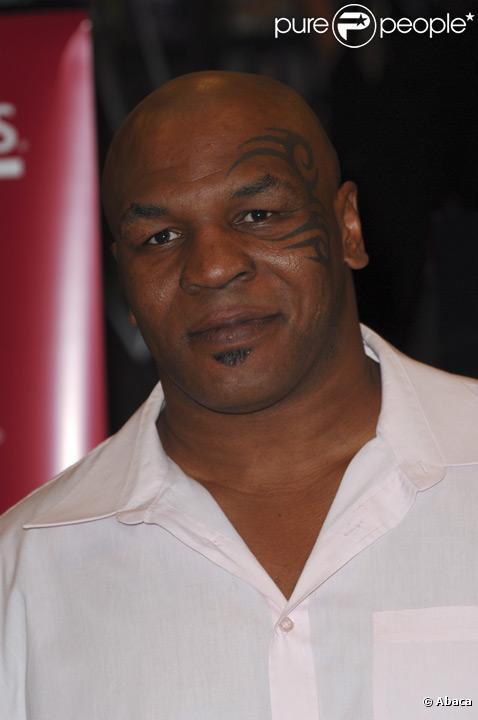 Mike Tyson en août 2009