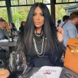 Laura Lempika au restaurant, le 16 mai 2021