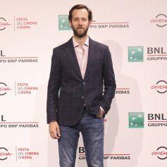 """Benjamin Lavernhe - Photocall du film """"Le Discours"""" lors du Festival international du film de Rome, le 19 octobre 2020."""