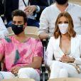 Maëva Coucke - People dans les tribunes des Internationaux de France de Tennis de Roland Garros à Paris. Le 9 juin 2021 © Dominique Jacovides / Bestimage