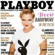La superbe Drew Barrymore en couverture de  Playboy  !