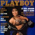 La superbe LaToya Jackson en couverture de  Playboy  !