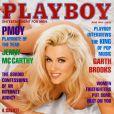 La superbe Jenny McCarthy en couverture de  Playboy  !