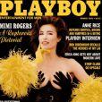 La superbe Mimi Rogers en couverture de  Playboy  !