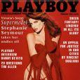 La superbe Stephanie Seymour en couverture de  Playboy  !