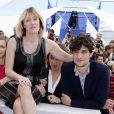"""Louis Garrel et Valeria Bruni Tedeschi - Photocall du film """"Un chateau en Italie"""" au 66 eme Festival du Film de Cannes, en mai 2013."""