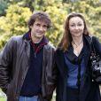 Albert Dupontel et Catherine Frot, lors de la présentation du  Vilain , à l'occasion du Festival du Film de Sarlat, le 12 novembre 2009.