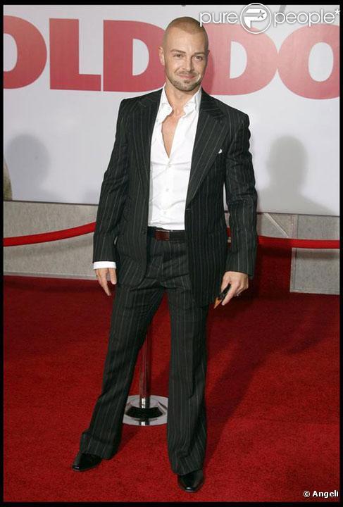 Joey Lawrence en novembre 2009
