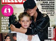 Victoria Beckham retourne à l'école avec son fils en bottes plates et baggy troué... On adore !