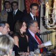 Dîner d'Etat organisé à l'Elysée en l'honneur du président irakien Jalal Talabani. 16/11/09