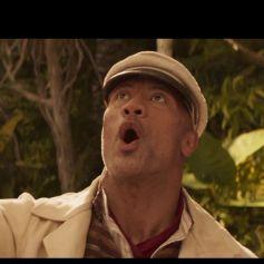 """Dwayne Johnson dans la bande-annonce du film """"Jungle Cruise""""."""