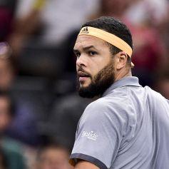"Match ""Jo-Wilfried Tsonga - Matteo Berrettini (6/4-6/3)"" lors du tournoi Rolex Paris Masters 2019, le 30 octobre 2019."