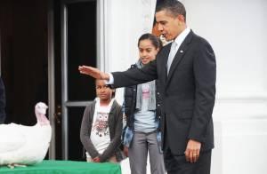Barack Obama et ses filles sauvent une vie... avant de se réunir en famille !