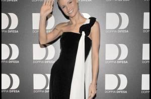 Michelle Hunziker : L'ex d'Eros Ramazzotti est intenable... même en robe du soir !