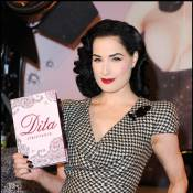 Dita von Teese : Toujours aussi étonnante... de glamour !