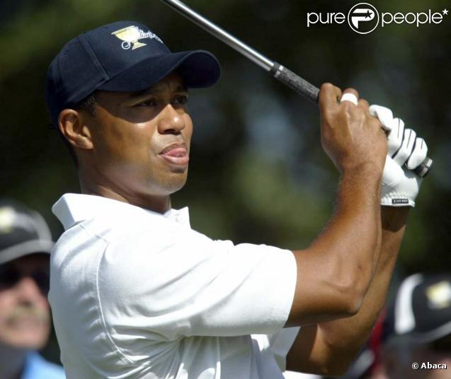 Tiger Woods victime d'un accident de voiture, vendredi 27 novembre 2009.