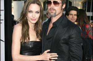 Brad Pitt et Angelina Jolie, rieurs et amoureux, font un pied de nez... aux mauvaises langues !