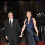 Cécilia et Richard Attias, très amoureux et resplendissants de bonheur... dans la chaleur nocturne de Marrakech !