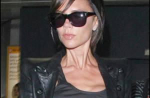 Victoria Beckham se remet de son vol grâce à ses fils... et à un look de garçon sexy !