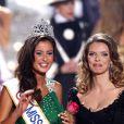 Malika Ménard, Miss France 2010 et Sylvie Tellier, le 6/12/09