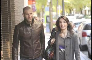 Zinedine Zidane et sa femme en virée shopping à Madrid et... le point sur son étrange reconversion !