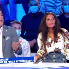 """Jean-Michel Maire, animateur de """"Miss Esthétique France"""" et Shelly Fray, membre du jury."""