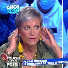 """Isabelle Morini-Bosc et Matthieu Delormeau s'écharpent dans """"TPMP"""" au sujet du concours de beauté """"Miss Esthétique France""""."""