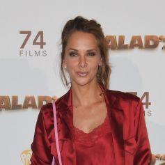 """Mélissa Theuriau - Les célébrités posent lors du photocall de l'avant-première du film """"Alad'2"""" au cinéma le grand Rex à Paris le 21 septembre 2018. © Guirec Coadic/Bestimage"""