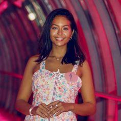 """Vaimalama Chaves (Miss France 2019 et marraine de l'opération) - Lancement de l'opération """"Fil Rose"""" © Christophe Clovis / Bestimage"""