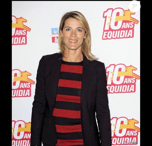 La présentatrice Nathalie Simon